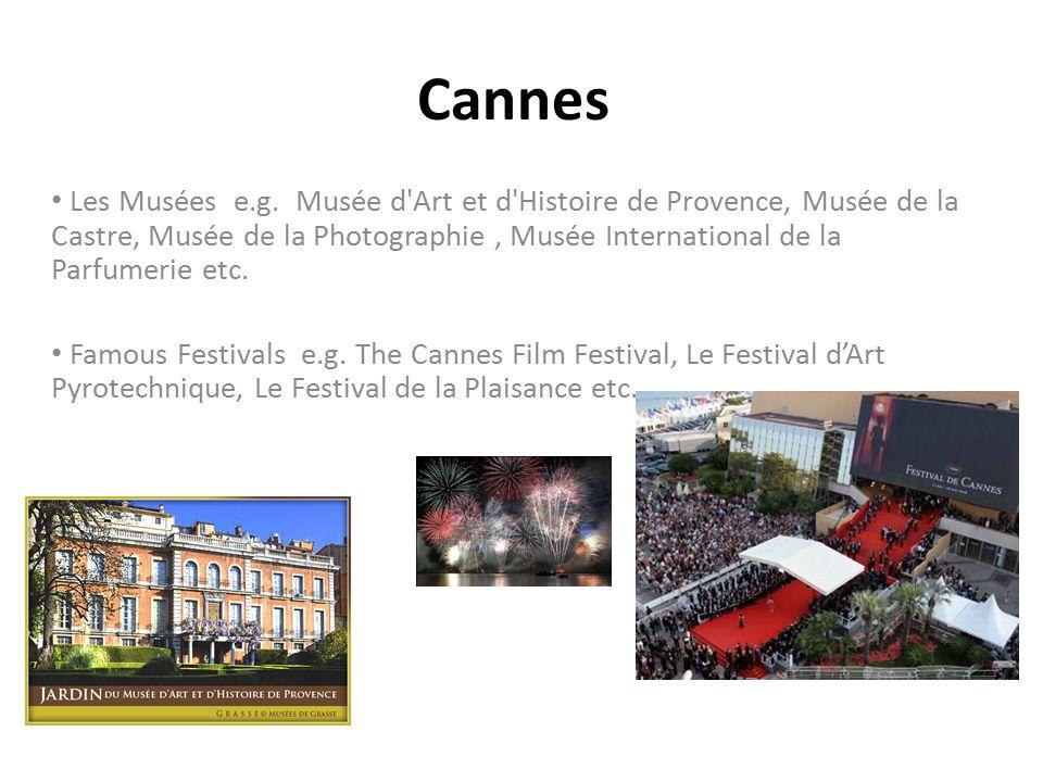 Cannes Les Musées e.g.