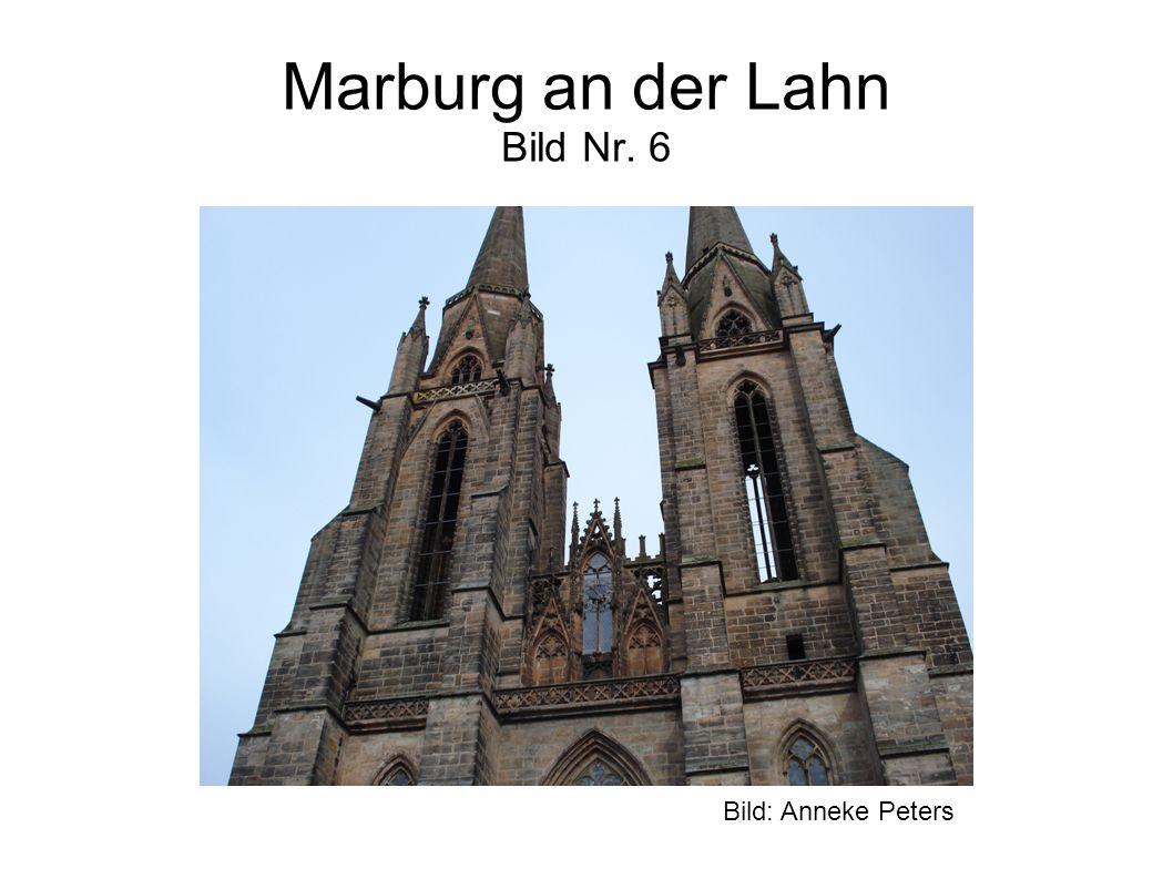 Marburg an der Lahn Bild Nr. 6 Bild: Anneke Peters