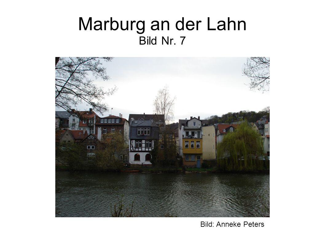 Marburg an der Lahn Bild Nr. 7 Bild: Anneke Peters