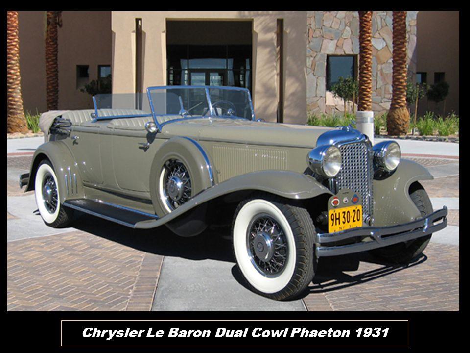 Chrysler Roadster 1931