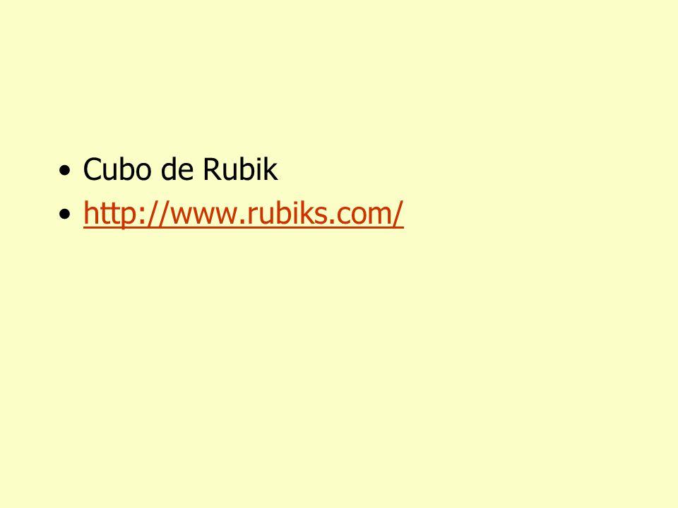 Cubo de E. Rubik (1944-)