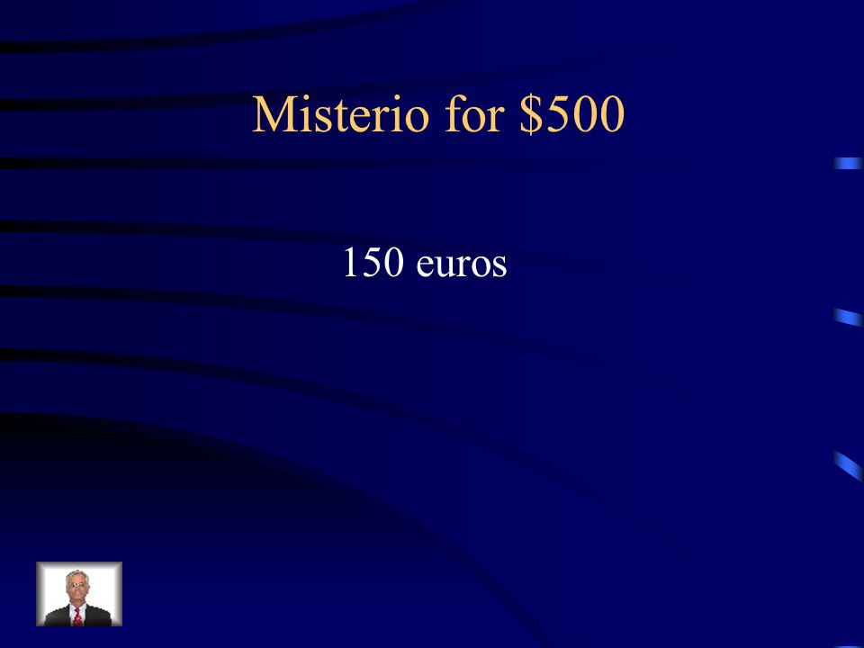 Answer - Misterio for $400 Diez euros
