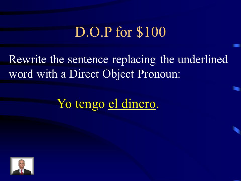 Answer - Boot verbs e  ie for $500 Yo empiezo clase a las ocho.