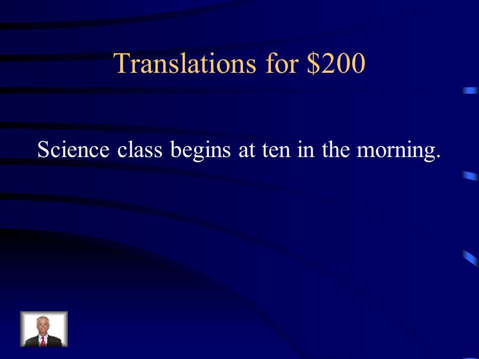 Answer - Translations for $100 Cuando (yo) tengo frío, llevo una chaqueta.