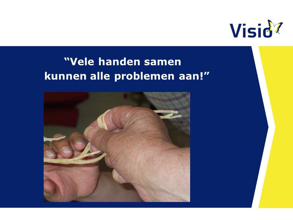 Vele handen samen kunnen alle problemen aan! 23 april 2015