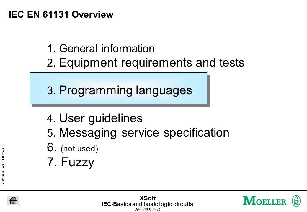 Schutzvermerk nach DIN 34 beachten 20/04/15 Seite 10 XSoft 1.