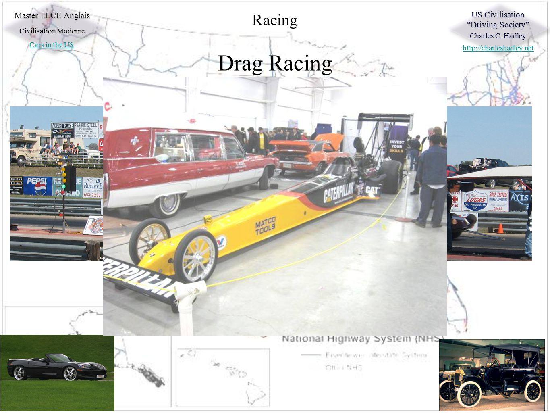 "Master LLCE Anglais Civilisation Moderne Cars in the US US Civilisation ""Driving Society"" Charles C. Hadley http://charleshadley.net Racing Formula 1"