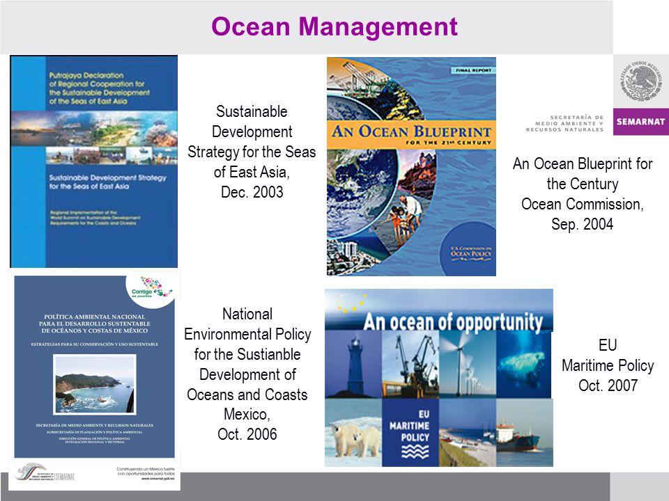 Ocean Management EU Maritime Policy Oct.
