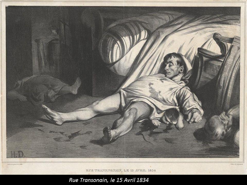 Rue Transonain, le 15 Avril 1834