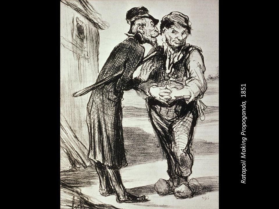 Ratapoil Making Propoganda, 1851