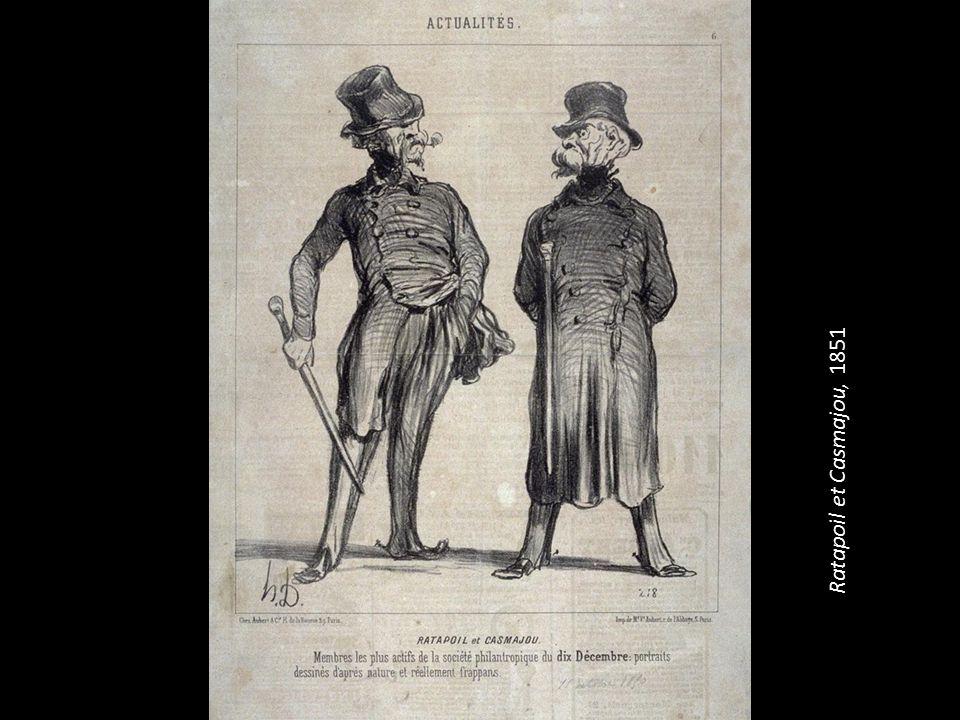 Ratapoil et Casmajou, 1851