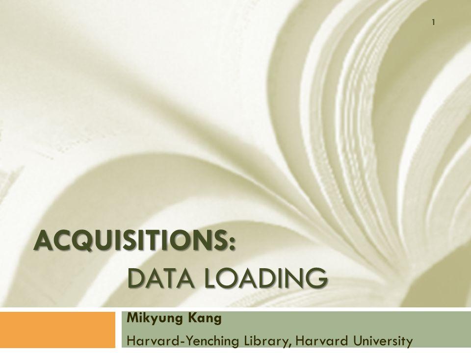 What are Dataloads.