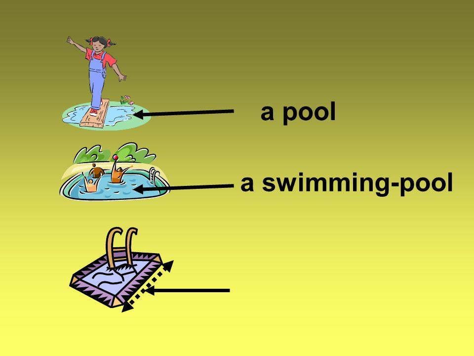 a swimming-pool a pool