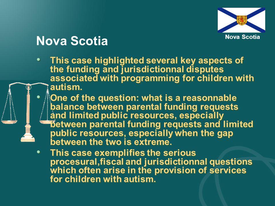 Nova Scotia Dassonville-Trudel v.