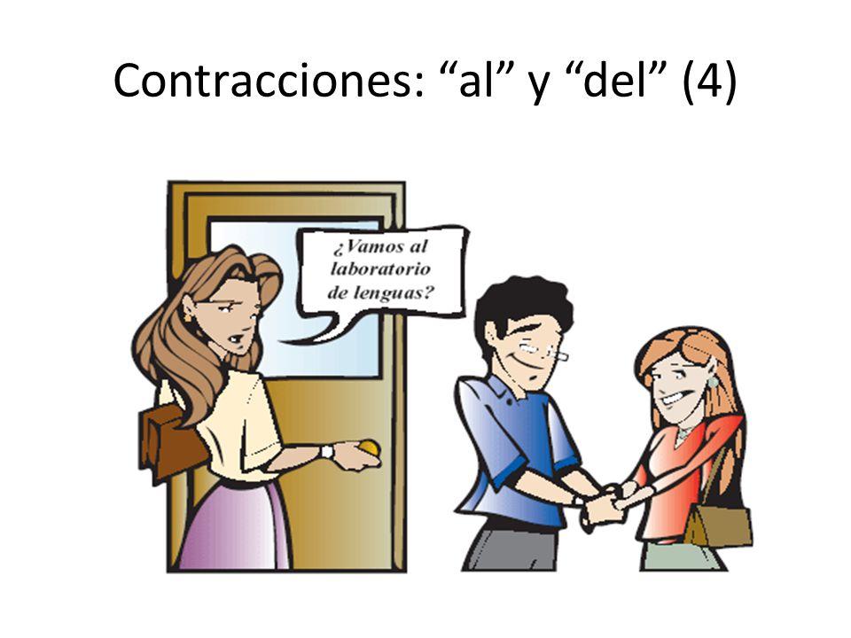 """Contracciones: """"al"""" y """"del"""" (4)"""