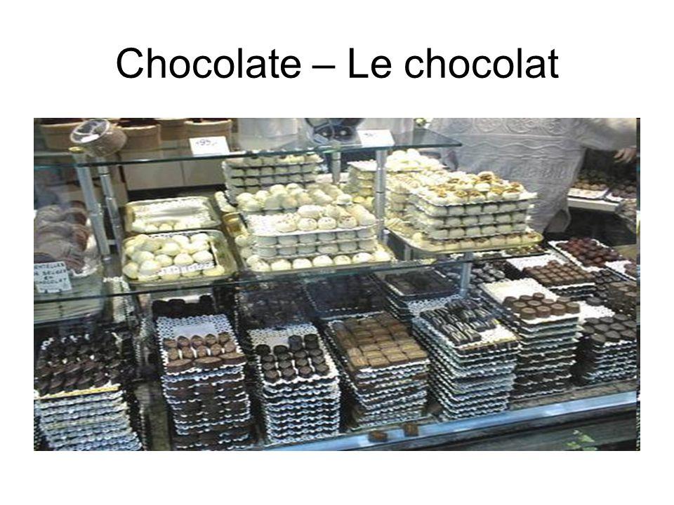 Chocolate – Le chocolat
