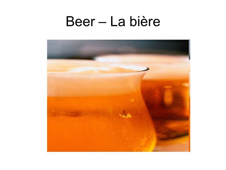 Beer – La bière
