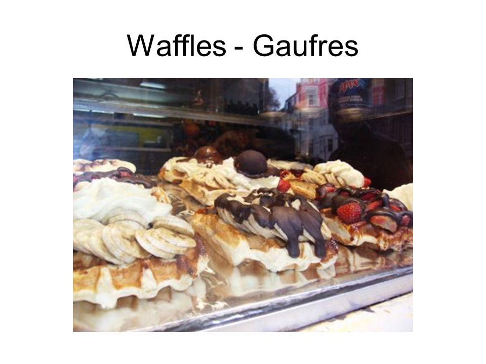 Waffles - Gaufres