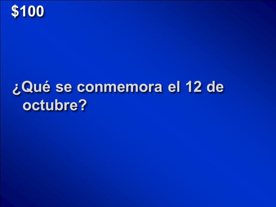 © Mark E. Damon - All Rights Reserved Fiestas Seguro s Familia Números Puntuaci ón $100 $200 $300 $400 $500 Round 2 Final Jeopardy Scores