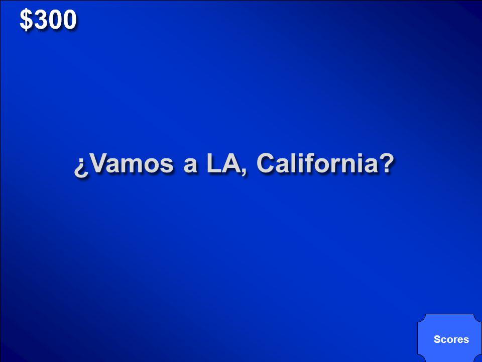 © Mark E. Damon - All Rights Reserved $300 Vamos a LA California?