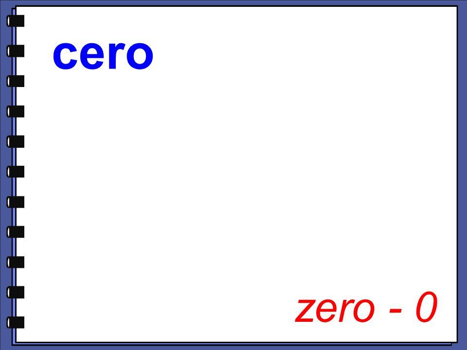 zero - 0