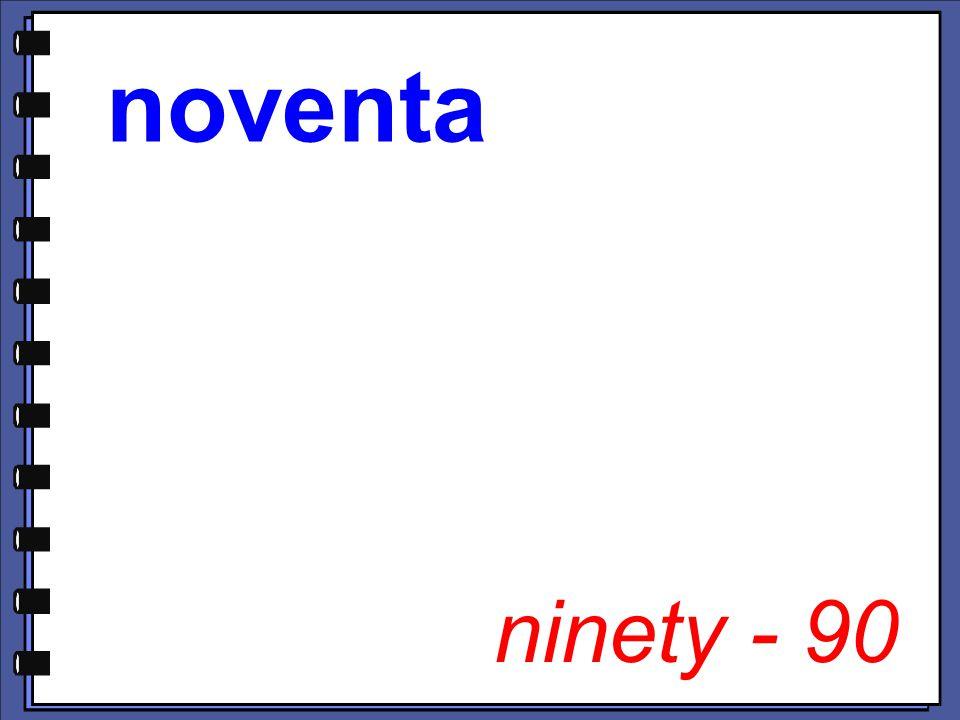 ninety - 90
