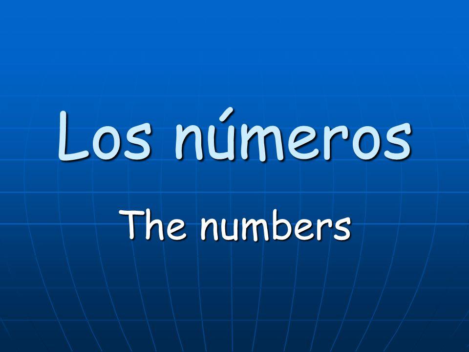 diecinueve (diez y nueve) 19(nineteen)