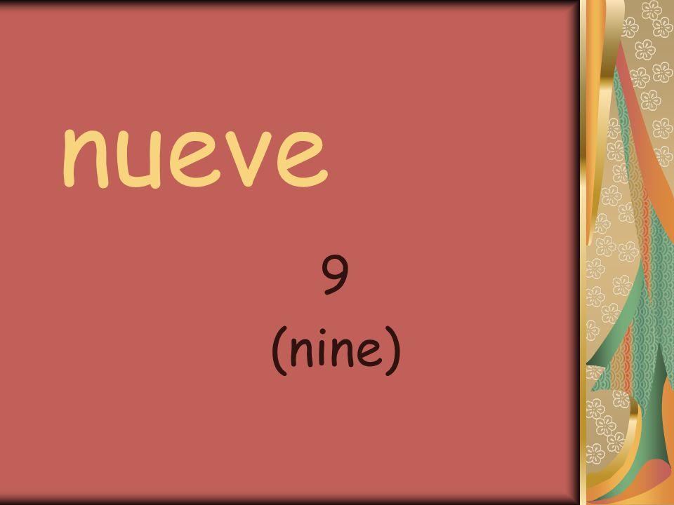 nueve 9 (nine)