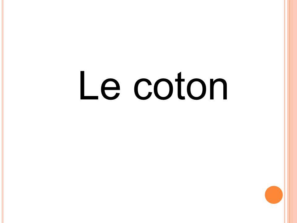 Le coton