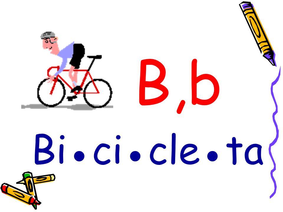 B,b Bi●ci●cle●ta