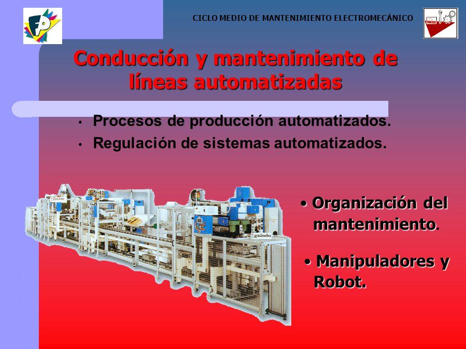 Procesos de producción automatizados. Regulación de sistemas automatizados.