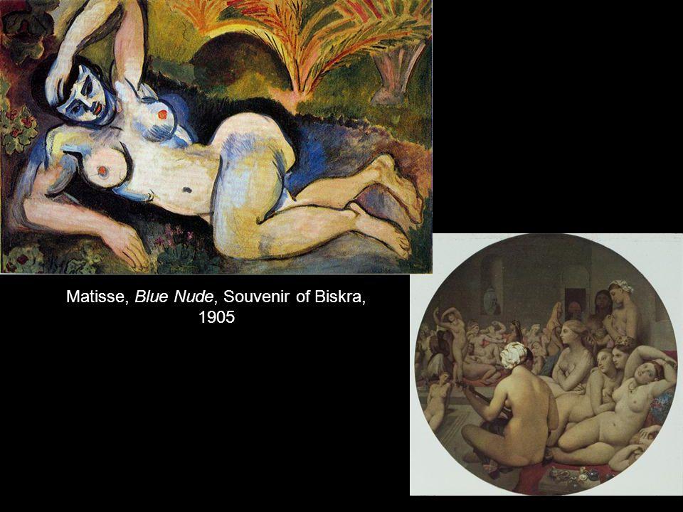 Matisse, Blue Nude, Souvenir of Biskra, 1905