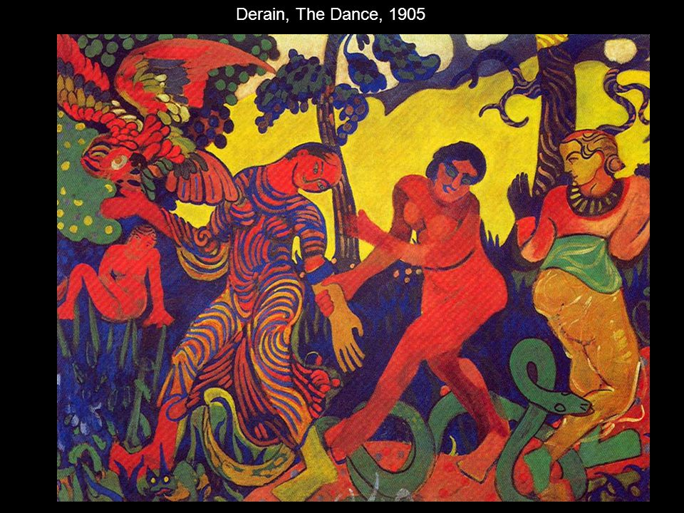 Derain, The Dance, 1905
