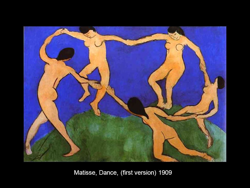 Matisse, Dance, (first version) 1909