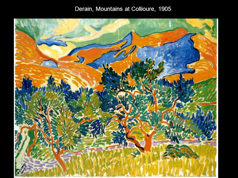 Derain, Mountains at Collioure, 1905