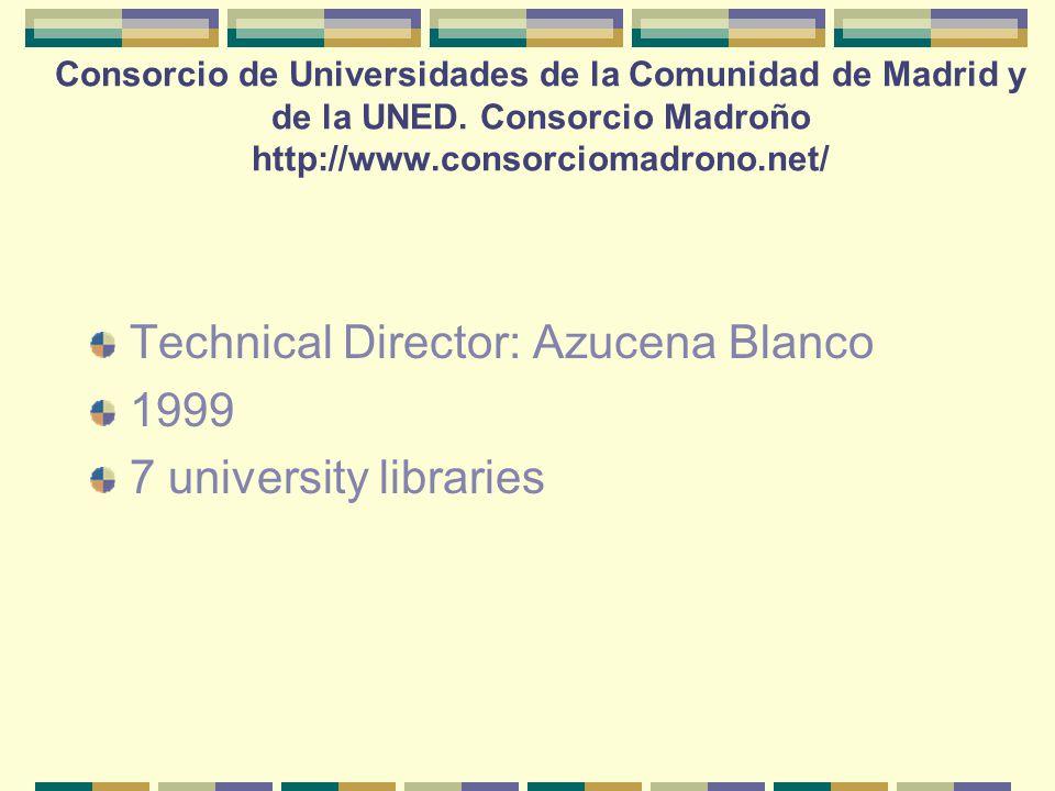 Consorcio de Universidades de la Comunidad de Madrid y de la UNED.