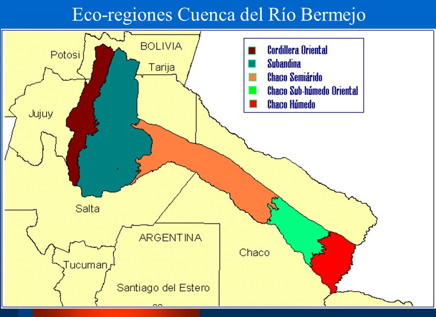Eco-regiones Cuenca del Río Bermejo