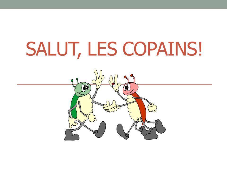 SALUT, LES COPAINS!