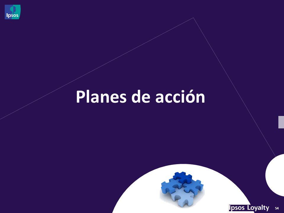54 Planes de acción
