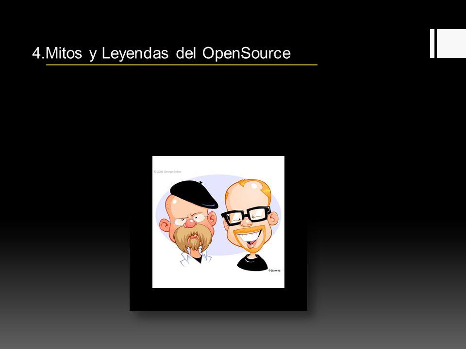 4.Mitos y Leyendas del OpenSource