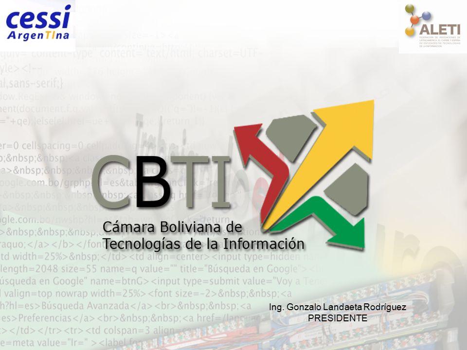 Ing. Gonzalo Landaeta Rodríguez PRESIDENTE