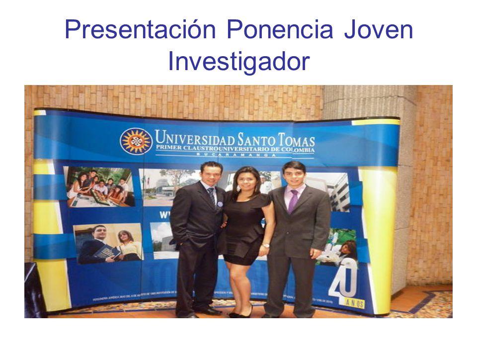 Presentación Ponencia Joven Investigador