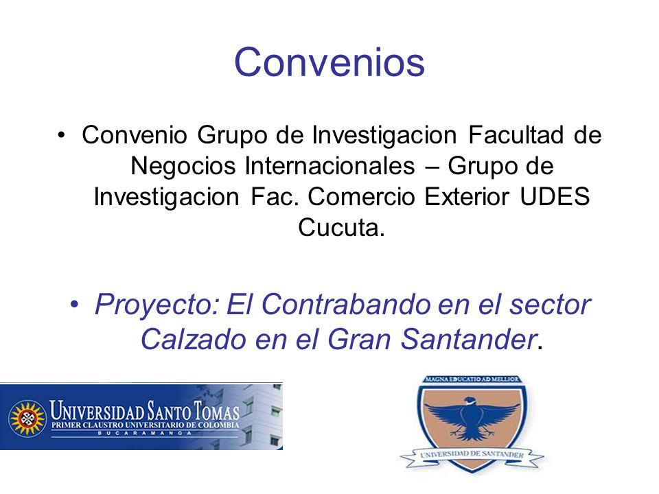 Convenios Convenio Grupo de Investigacion Facultad de Negocios Internacionales – Grupo de Investigacion Fac.