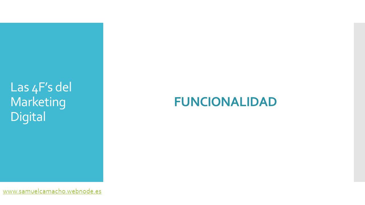 Funcionalidad  La Web 2.0 ha hecho posible la integración de audio, vídeo, animación y espacios virtuales.