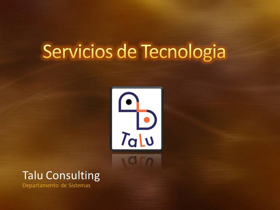 Talu Consulting Departamento de Sistemas
