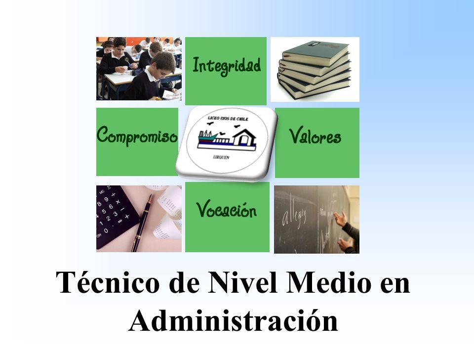 Técnico de Nivel Medio en Administración