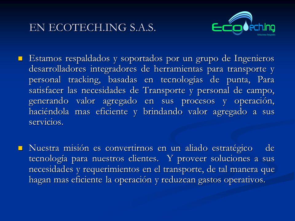 EN ECOTECH.ING S.A.S.