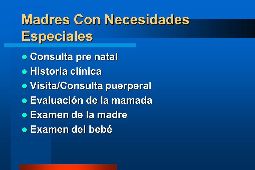 INFECCIONES BACTERIANAS Y LACTANCIA MATERNA INFECCIONAMAMANTAMIENTO Salmonellosis, Shigellosis Sí CóleraSí GonorreaSí SífilisSí ENFERMEDADES MATERNAS Y LACTANCIA NATURAL