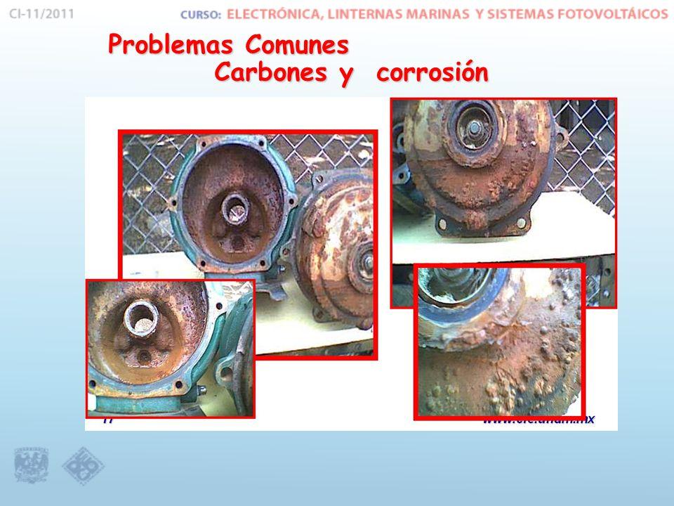 Problemas Comunes Carbones y corrosión