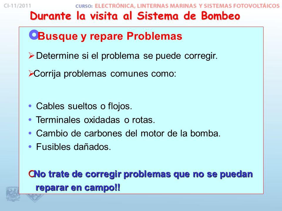  Busque y repare Problemas  Determine si el problema se puede corregir.